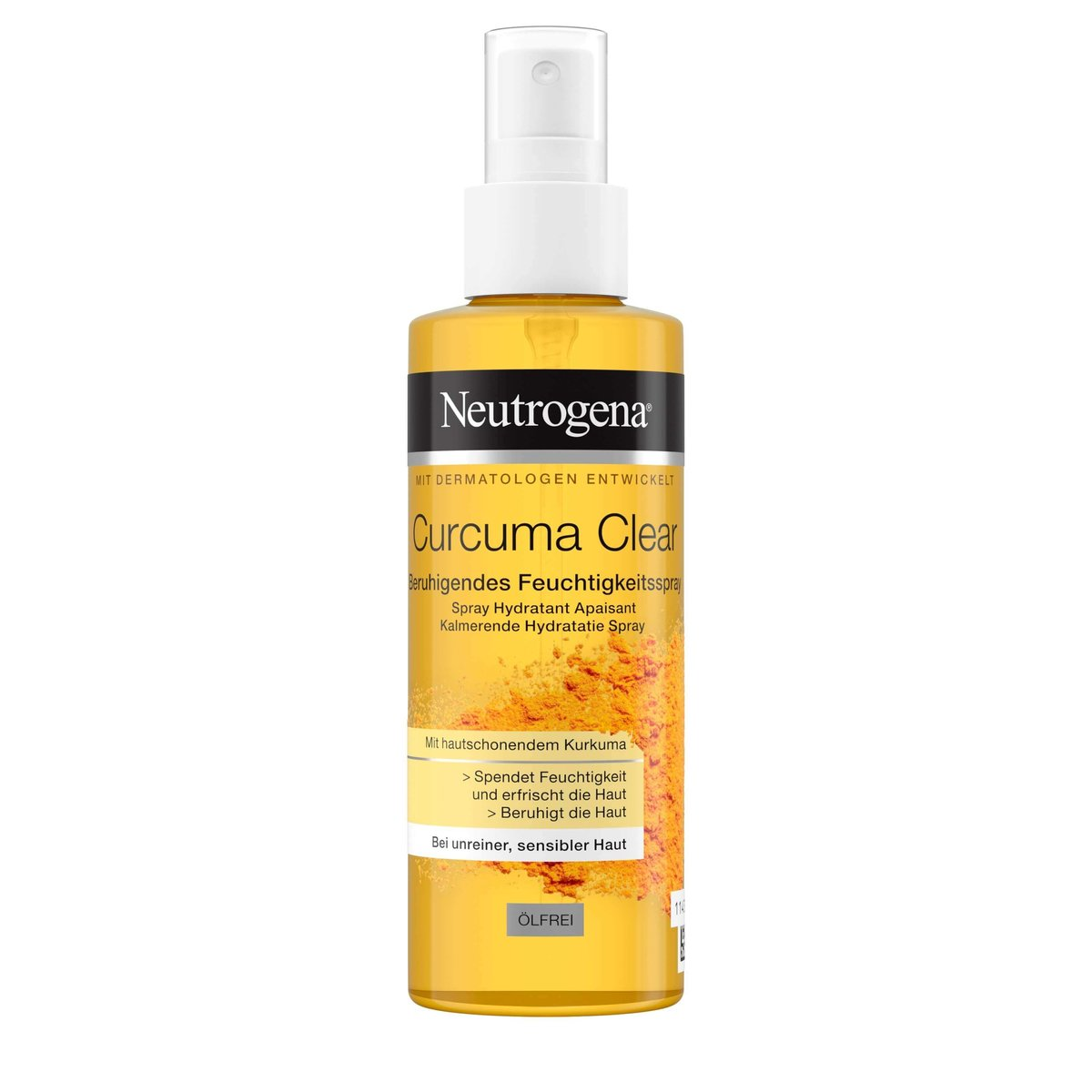 Curcuma Clear Beruhigendes Feuchtigkeitsspray