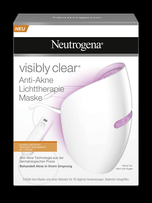 Neutrogena® FAQs Lichttherapie Maske