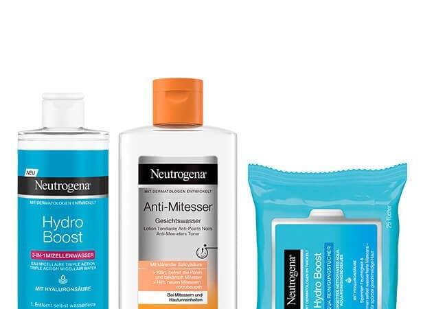 Neutrogena® Gesichtsreinigung
