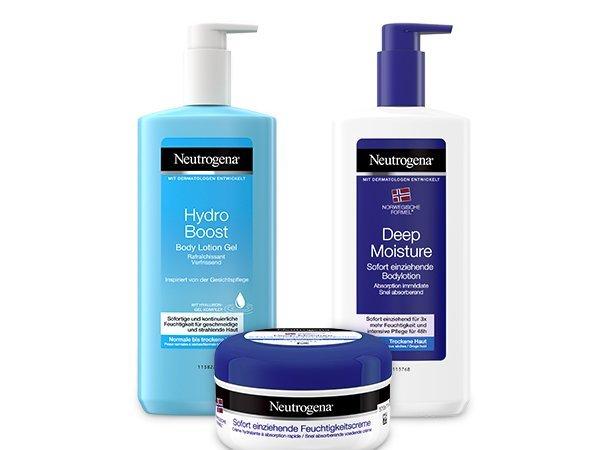 Neutrogena® Pflege für trockene und sensible Haut