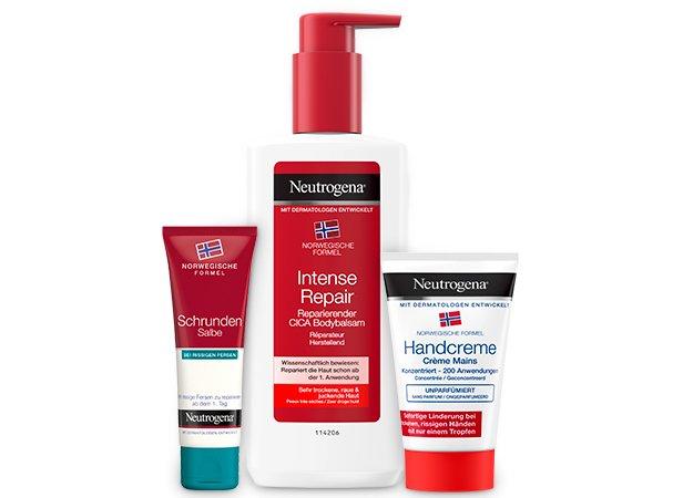 Neutrogena® Pflege für sehr trockene Haut