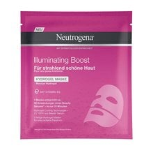 Neutrogena®<br>Illuminating Boost Hydrogel Maske