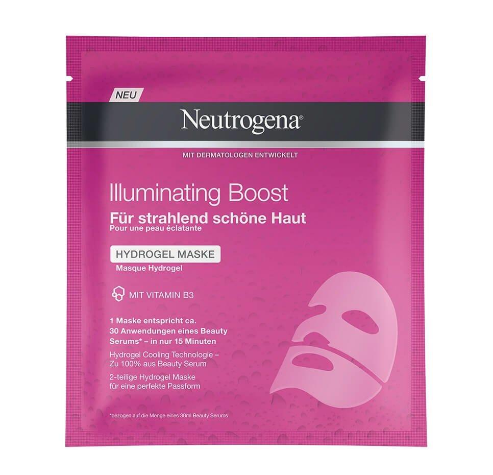 Neutrogena®Illuminating Boost Hydrogel Maske