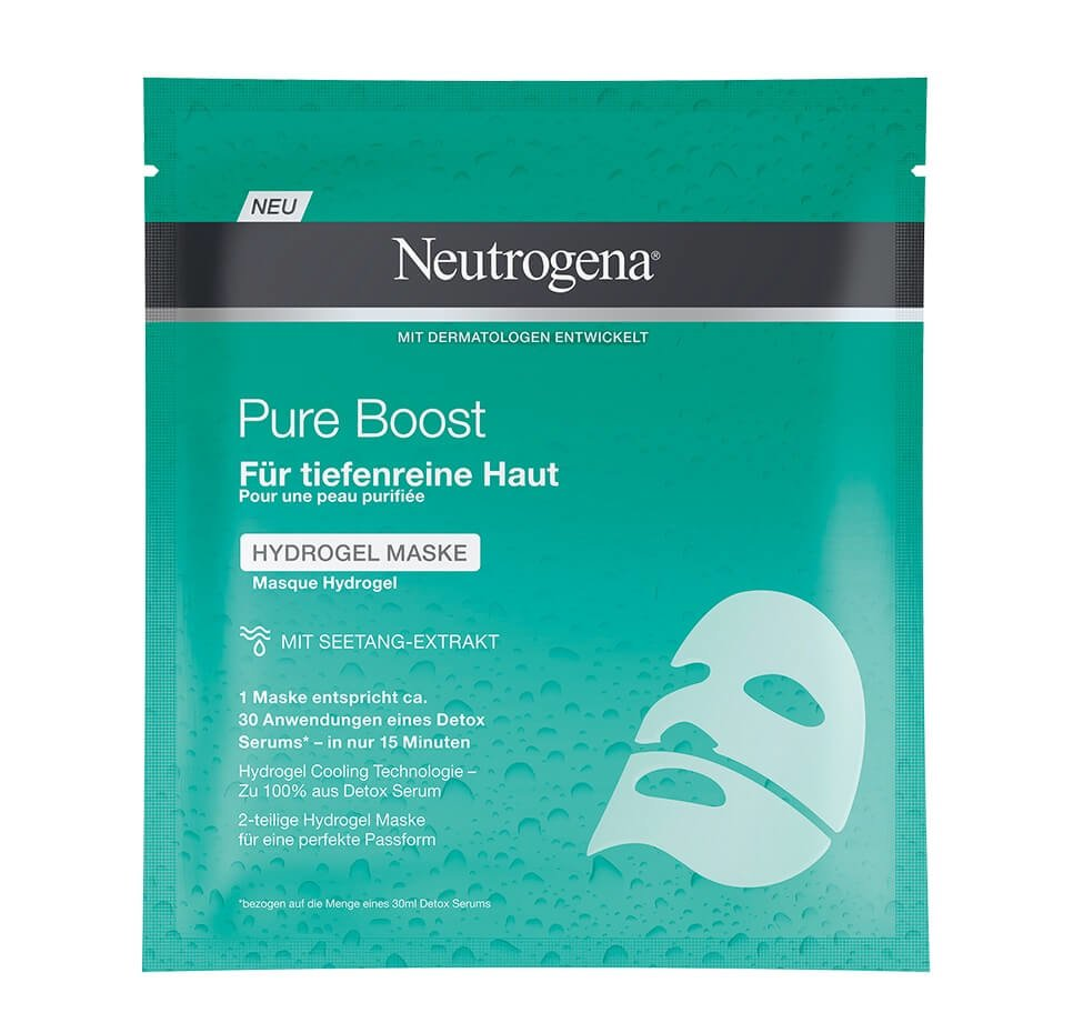 Neutrogena®Pure Boost Hydrogel Maske