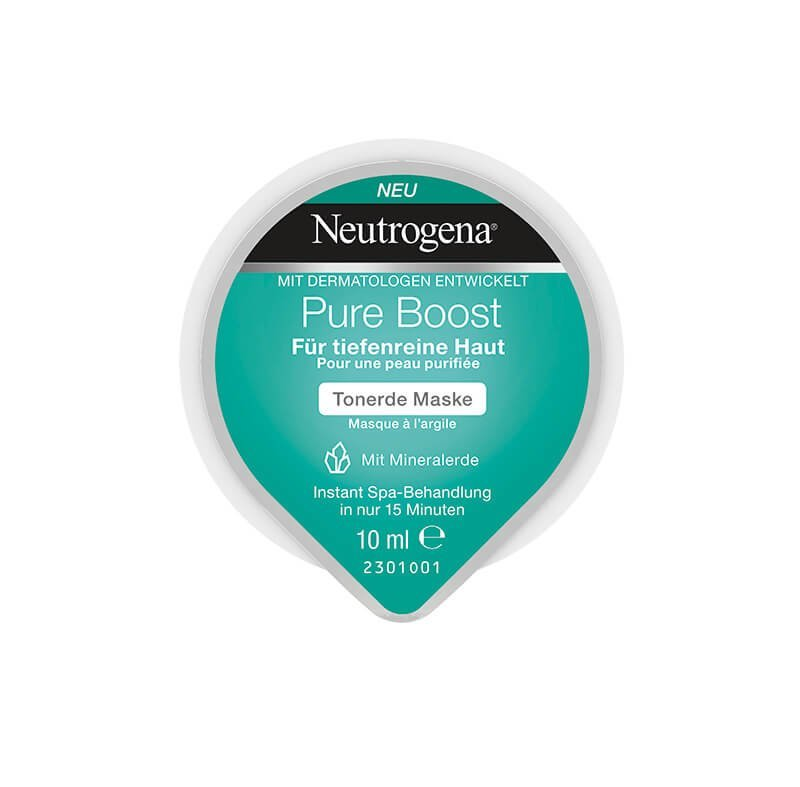 Neutrogena®Pure Boost Tonerde Maske
